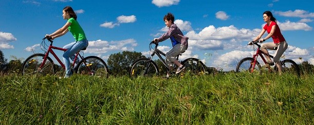 Bike Rides Provide Exercise while Improving Joint Health