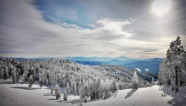 Mt Ashland Snowboarding Oregon