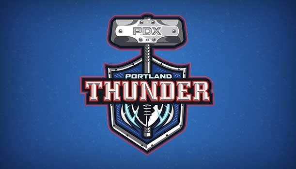 Portland Thunder Logo