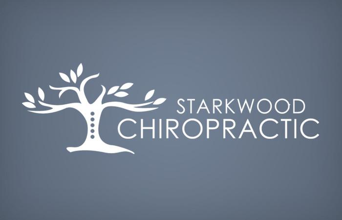 Starkwood Chiropractic Portland, Oregon Logo Blue Soft