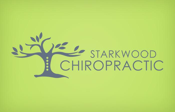 Starkwood Chiropractic Portland, Oregon Logo Green Soft